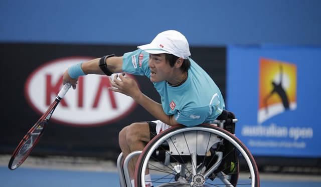車いすテニス世界ランキング1位の国枝慎吾選手