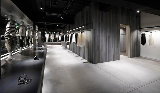 佐藤オオキ氏は世界すべてのtheoryフラッグシップショップのデザインを手がける<br /> 写真はtheory 自由が丘店