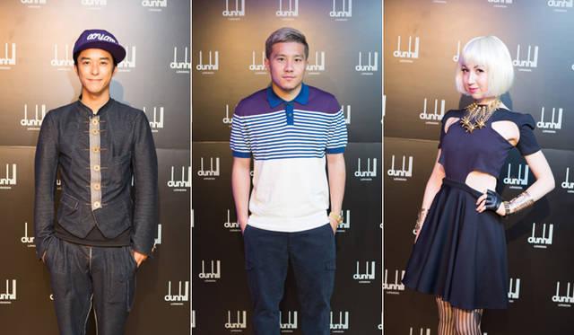 左から、俳優の小橋賢児さん、フィテッセ所属の安田理大選手、ファッションジャーナリストのミーシャ・ジャネットさん