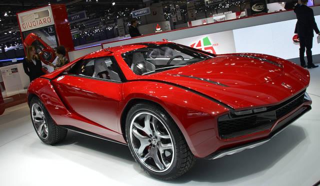 """2013年 <a href=""""/article/17045"""" class=""""link12lh15blue"""" Title="""""""">ジュネーブモーターショーにて公開</a>されたSUVとスポーツカーのクロスオーバーというコンセプトモデル"""