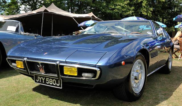 1966年 発表の初代マセラティ「ギブリ」はギア時代のジウジアーロのデザイン