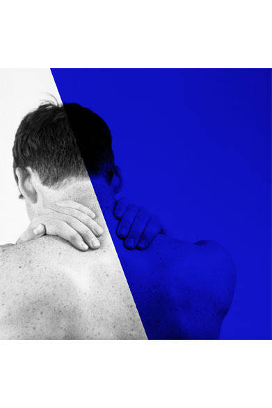<strong>ato|アトウ</strong>  ato×Thomas Dozol コラボレーション 「Michael(Blue), 2010」