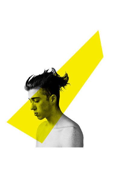 <strong>ato|アトウ</strong>  ato×Thomas Dozol コラボレーション 「Evan(Flame , Yellow), 2013」