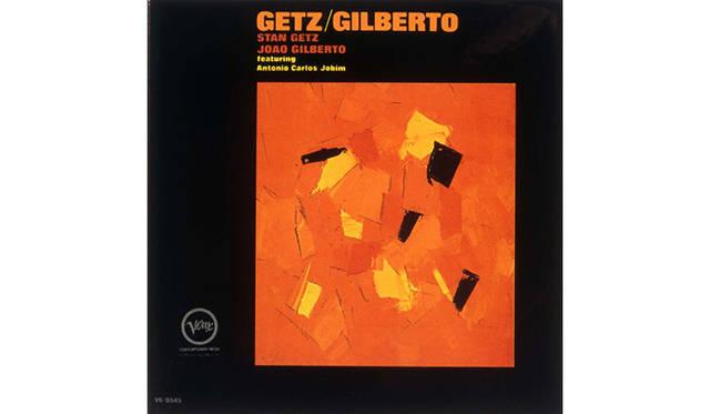 ゲッツ/ジルベルト(VERVE)<br /> 米国のジャズ・サックス奏者スタン・ゲッツが、ブラジルのボサ・ノヴァ・アーティスト、ジョアン・ジルベルトとアントニオ・カルロス・ジョビンを招いて1963年に録音(発売は1964年)。 ビルボード誌のアルバム・チャートで2位に達する大ヒット作となり、当時ジョアンの妻だったアストラッド・ジルベルトのヴォーカルをフィーチャーした「イパネマの娘」がシングルとして200万枚のセールスを記録。世界中にボサ・ノヴァ・ブームを巻き起こした。 同年度のグラミー賞では、アルバムが主要2部門(アルバム・オブ・ザ・イヤー、レコード・オブ・ザ・イヤー)を含む4冠に輝いた