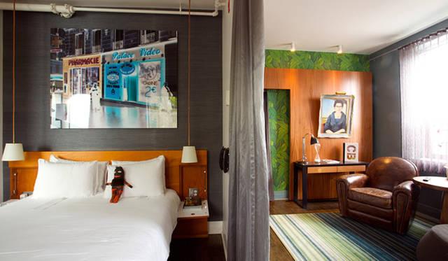 カナダ・トロント「Drake Hotel」
