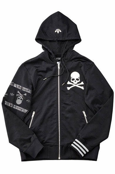 「adidas Originals by mastermind JAPAN」 HOODED SUITS MMJ (Z72485)4万1700円 ※スウェットパンツとのセットアップ