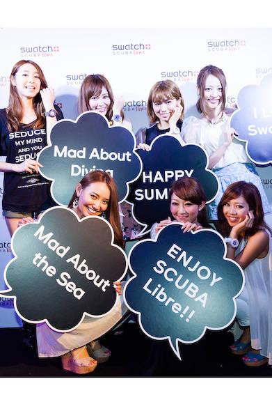 磯部さん、安岡さん、森下さん、梅野さん、青山さん、杉下さん、李さん(読者モデル )