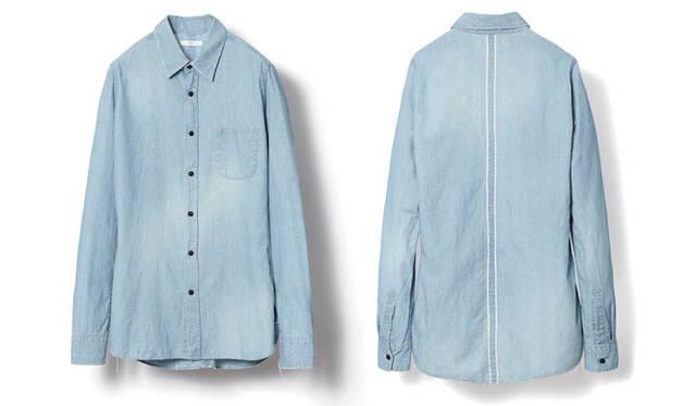 <strong>KURO|クロ</strong> KURO SHOP LIMITED ITEM第一弾 シャンブレーシャツ1万8900円(ワンウォッシュもあり)