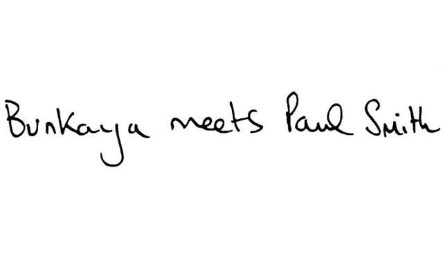 ポップアップショップ『Bunkaya meets Paul Smith』