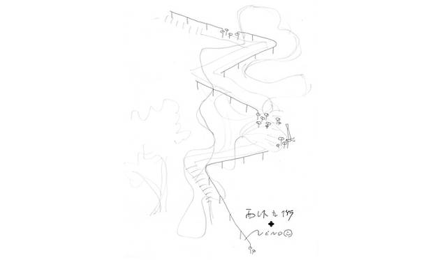展覧会のためのスケッチ 西沢立衛、佐藤オオキ(nendo)