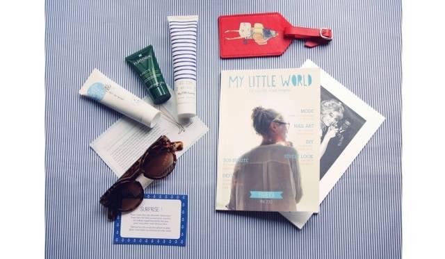 <strong>My Little Box|パリジェンヌを夢中にした「My Little Box」がこの秋、ついに日本でスタート!</strong> 「My Little Riviera Box」の中身