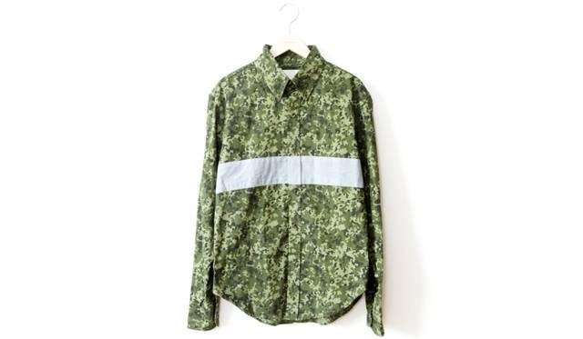 限定のカモフラシャツ 3万3600円