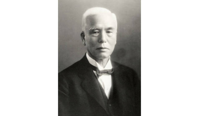 1881年、21歳という若さで服部時計店(現セイコー)を興した創業者、服部金太郎氏