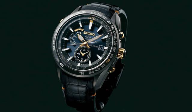 「セイコーアストロン セイコー腕時計100周年 服部金太郎特別限定モデル」<br /> 昨年9月に誕生した世界初のGPSソーラーウオッチ「セイコー アストロン」。セイコーの腕時計製造100周年を迎えた今年、創業者の服部金太郎の名を冠した初めてのモデルが登場した