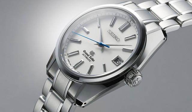 """「グランドセイコー ヒストリカルコレクション「44GS」限定モデル(現代デザイン・自動巻)」<br />  1960年に国産高級時計ブランドとして誕生した「グランドセイコー」。後に""""セイコースタイル""""と呼ばれに至った、その原点ともいうべき「44GS」を現代的にアレンジしたモデル"""