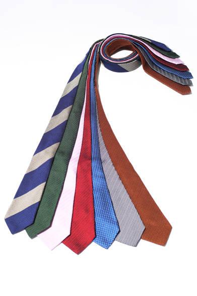 世界でも稀なオールハンドメイドネクタイを製造する 京都・丹後のネクタイ工場「KUSKA」のネクタイ