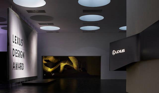 昨年、イタリアで開催された「LEXUS DESIGN AWARD 2013」の会場にて