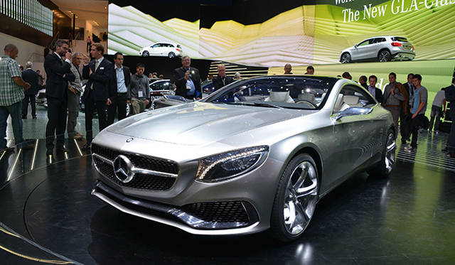 """Mercedes-Benz Concept S-Class Coupe