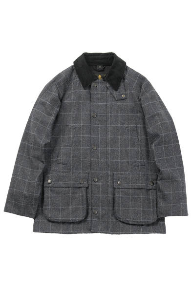 <strong>MEN'S|メンズ</strong><br /> <strong>BARNEYS NEW YORK|バーニーズ ニューヨーク</strong><br /> フィールドコート6万9300円(BARBOUR)