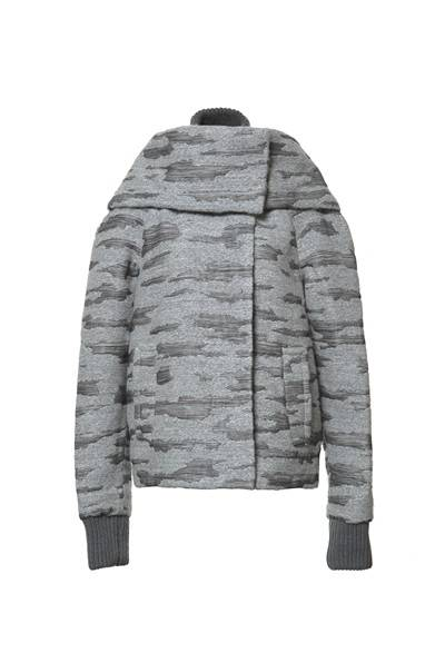 ALEXANDER WANG READY TO WEAR WOMEN'S<br />PUMICE STOLE COLLAR BOMBER/PUMICE 33万6000円(旗艦店の限定商品)