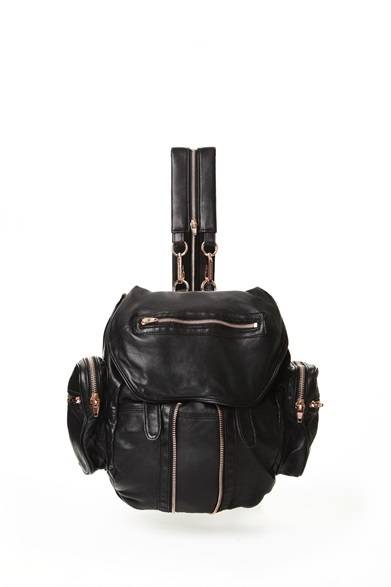 ALEXANDER WANG READY TO WEAR WOMEN'S<br />MARTI BACKPACK BLACK WITH ROSE GOLD/BLACK 13万6500円(旗艦店の限定商品)