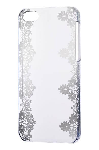<strong>SoftBank SELECTION|ソフトバンクセレクション</strong> iPhone 5c本体のカラーで選ぶグラフィックプリントケース「iPhone 5cクリアデザインケース」。オープン価格/SoftBank SELECTION オンラインショップ販売価格2400円