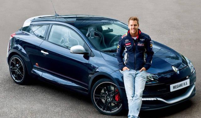 F1ドライバーのセバスチャン・ベッテル氏
