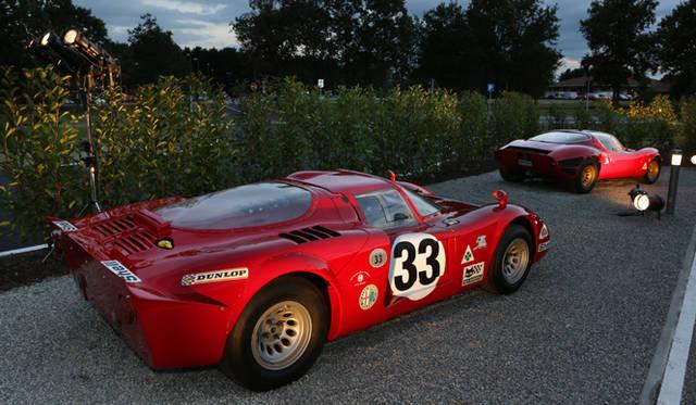 伝説のスーパーカー、アルファ ロメオ「ティーポ33 ストラダーレ」