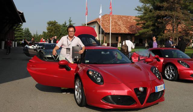 イタリア・バロッコでの試乗会に参加したモータージャーナリストの西川 淳氏