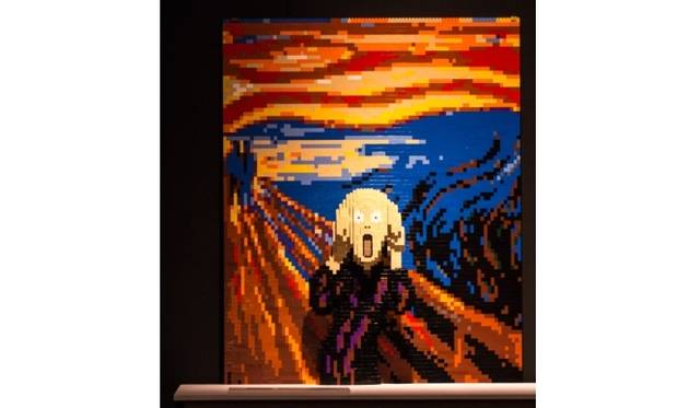<strong>ART FILE 25|「THE ART OF THE BRICK」</strong> モンクの「叫び」