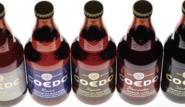 <strong>西澤明洋(EIGHT BRANDING DESIGN)</strong> COEDO(2005~) 川越のプレミアムクラフトビールブランド