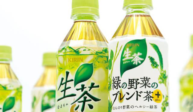<strong>西澤明洋(EIGHT BRANDING DESIGN)</strong> 生茶(2009~2012) キリンビバレッジの主力緑茶ブランド