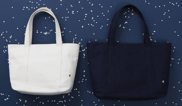 キャンバストートバッグ1万2600円(左)、1万3650円(右)