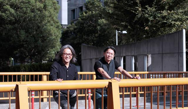 ゲストの谷川じゅんじ氏(左)と丸若氏