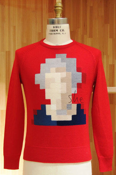 <strong>「it knit」</strong> 赤「she」(Ladies)2万9400円
