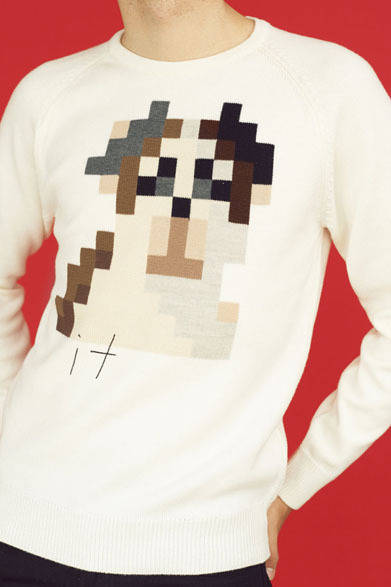 <strong>「it knit」</strong> 白「it」(Men's)2万9400円
