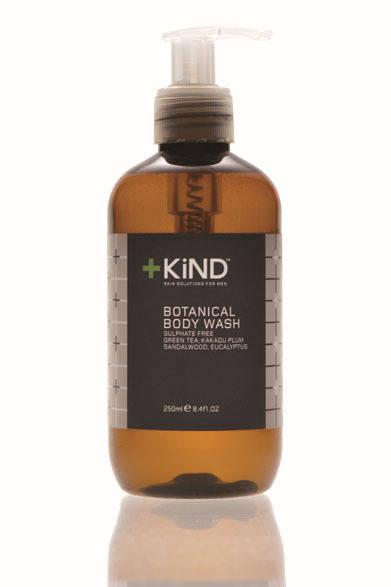 <strong>+KiND|カインド</strong> メンズオーガニックスキンケアブランド 全身洗浄料「ボタニカルボディウォッシュ」(250ml)4200円