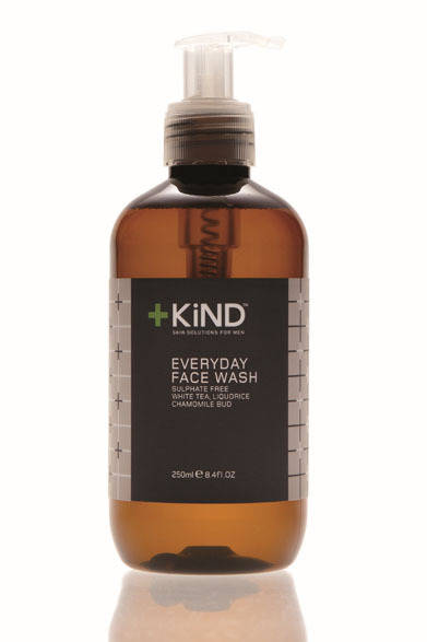 <strong>+KiND|カインド</strong> メンズオーガニックスキンケアブランド 洗顔料「エブリデイフェイスウォッシュ」(250ml)4725円