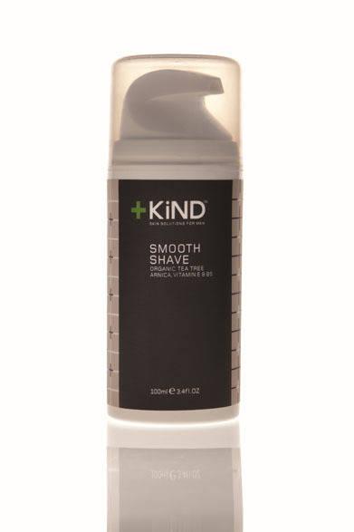 <strong>+KiND|カインド</strong> メンズオーガニックスキンケアブランド シェイビングクリーム「スムーズシェイブ」(100ml)3990円
