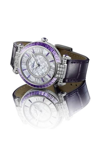 <strong>Chopard|伊勢丹新宿店ザ・ステージで期間限定イベント『パッション』を開催</strong><br /><br />  2013年バーゼルワールドで話題を集めた「Imperiale Joaillerie Am&#233;thyste」<br /><br />  日程│1月15日(水)~1月21日(火)<br /> 会場│伊勢丹新宿店 本館1階=ザ・ステージ<br /> 東京都新宿区新宿3-14-1<br /><br />  ショパール ジャパン プレス<br /> Tel.03-5524-8922