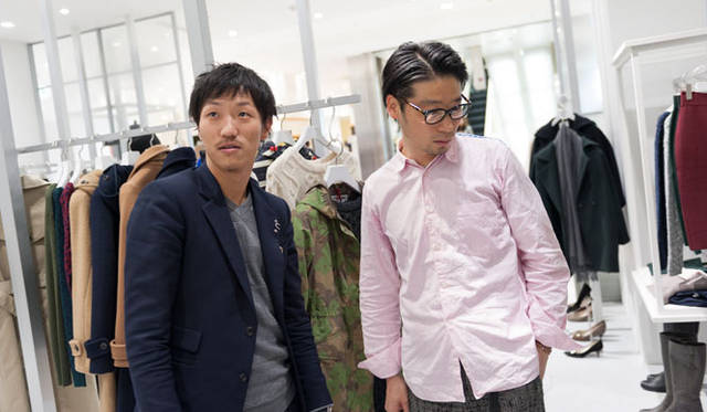 <strong>STUDIOUS|ステュディオス</strong> 「STUDIOUS WOMENS 渋谷PARCO店」の内装も谷尻氏が手がけた