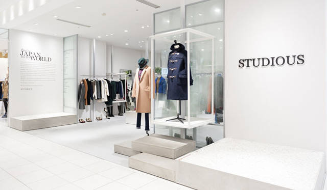 <strong>STUDIOUS|ステュディオス</strong> 「STUDIOUS WOMENS 渋谷PARCO店」
