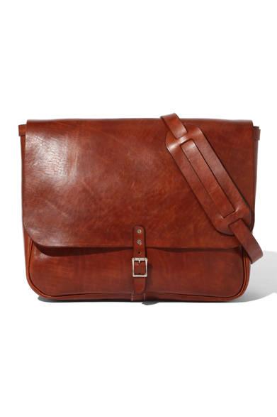 「Leather Messenger Bag」14万400円(トッド スナイダー)