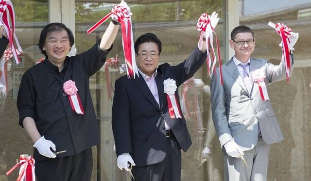 <strong>ART|『LVMH 子ども アート・メゾン』福島県相馬市にオープン</strong> オープニング・セレモニー &#169; LOUIS VUITTON / Tadamasa Iguchi