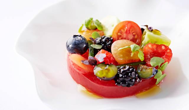 トマトとサマーフルーツ