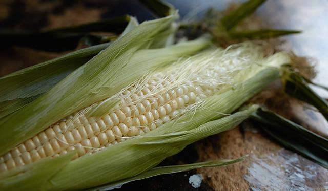 トウモロコシは、優しい甘みが特徴