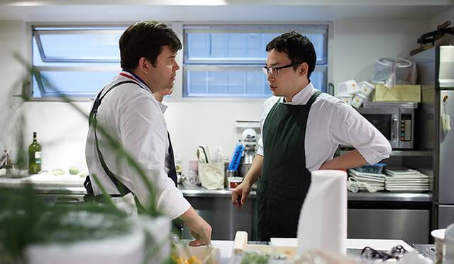 「ピルエット」のメニューは、トロション氏と小林氏、二人の密な話し合いで作られていった