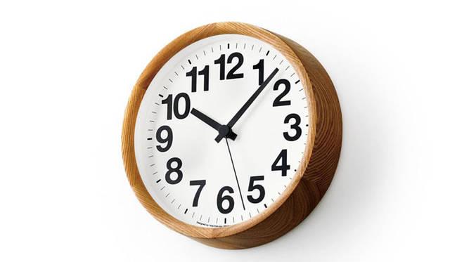 <strong>Lemnos|タカタレムノス</strong> Clock A / ナチュラル(YK14-05 NT)