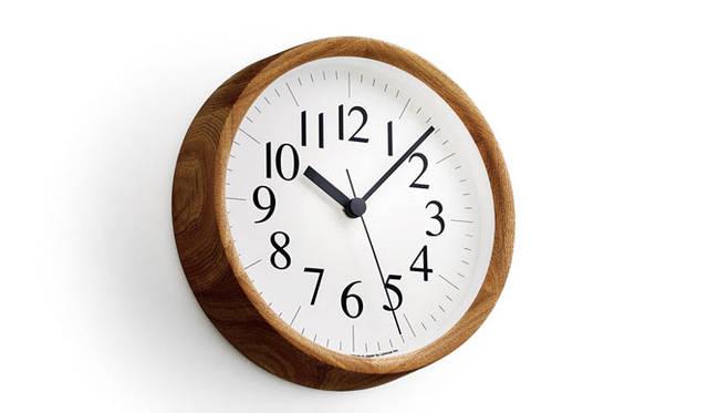<strong>Lemnos|タカタレムノス</strong> Clock B / ナチュラル(YK14-06 NT)