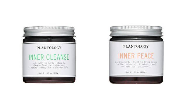 <strong>PLANTOLOGY|プラントロジー</strong> <strong>左/「INNER CLEANSE(インナークレンズ)」、右/「INNER PEACE(インナーピース)」</strong><br>